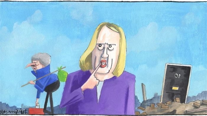 Sketch: Amber Rudd may or may not want to be Tory leader