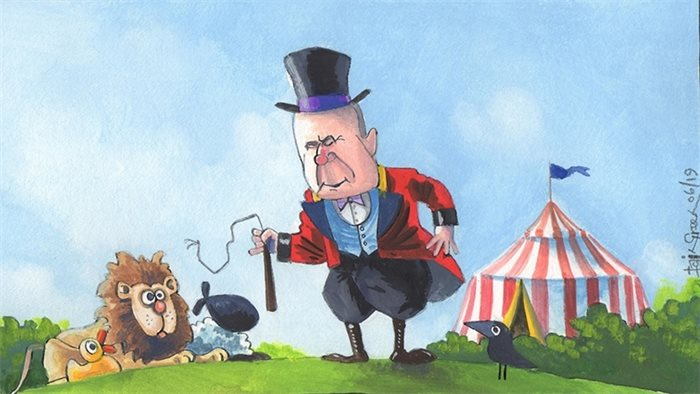 Sketch: MSPs go to the funfair