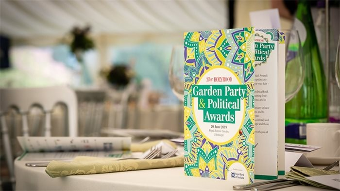 Photo gallery: Holyrood Garden Party and Political Awards 2019