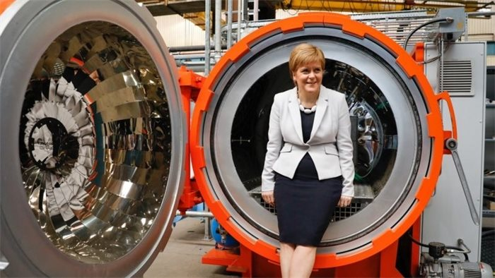 Nicola Sturgeon opens new £8.9m centre for lightweight manufacturing technology