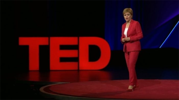 Nicola Sturgeon's TEDSummit speech