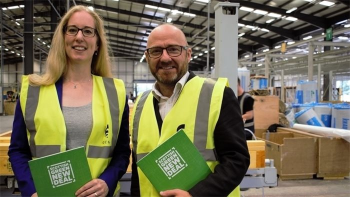 Scottish Greens unveil proposals for a 'green new deal' to reduce emissions and grow economy