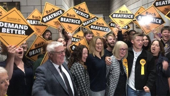 Lib Dems win Shetland by-election
