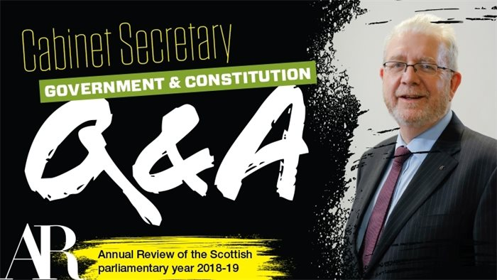 Q&A: Michael Russell on Brexit, independence and citizens' assemblies