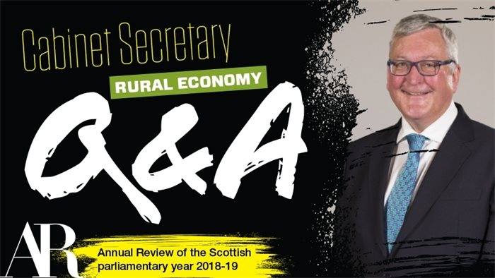 Q&A: Fergus Ewing on Brexit, forestry and the Good Food Nation Bill