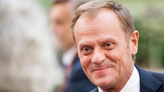 Only alternative to hard Brexit is no Brexit, says Donald Tusk