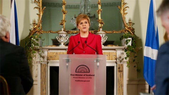 Nicola Sturgeon to formally request powers for second independence referendum
