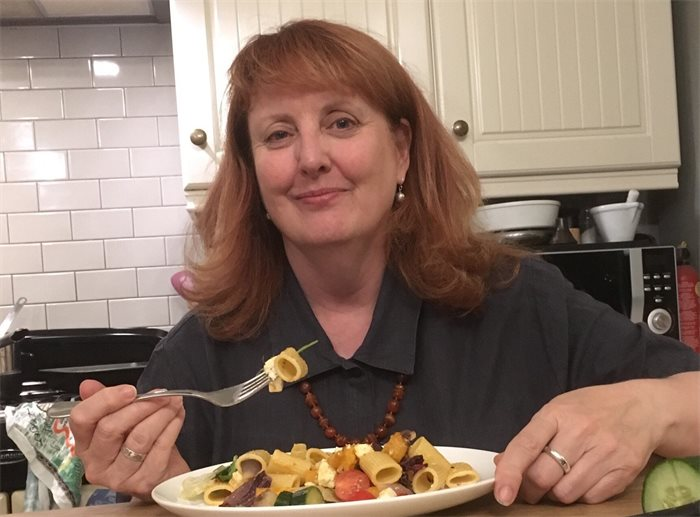Politicians and their plates: Deidre Brock's family vegetable pasta