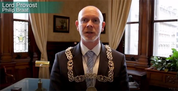 Philip Braat elected as Glasgow's new Lord Provost
