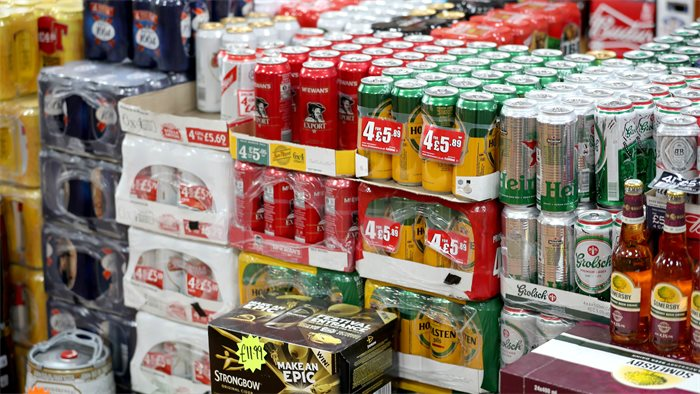 Alcohol sales fall in first year of minimum unit pricing