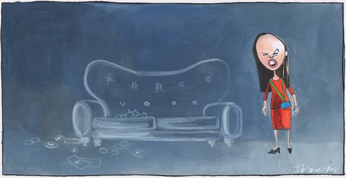 Sketch: The mystery of the Scottish Parliament sofa