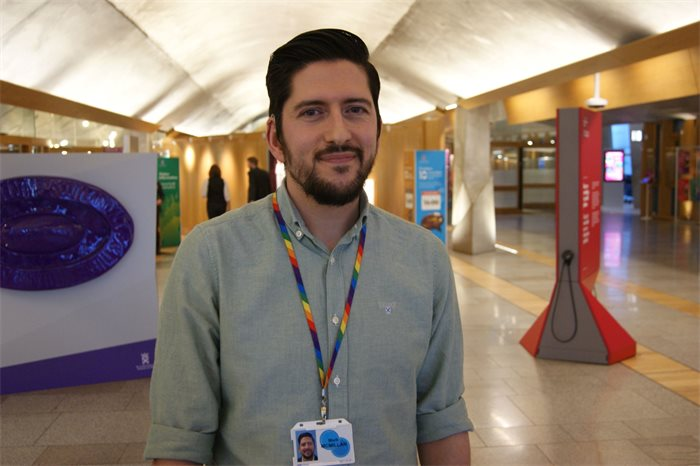 Getting to know you: Mark McMillan, Scottish Parliament British Sign Language officer