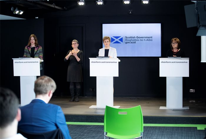 Scottish Government creates own COVID-19 expert group