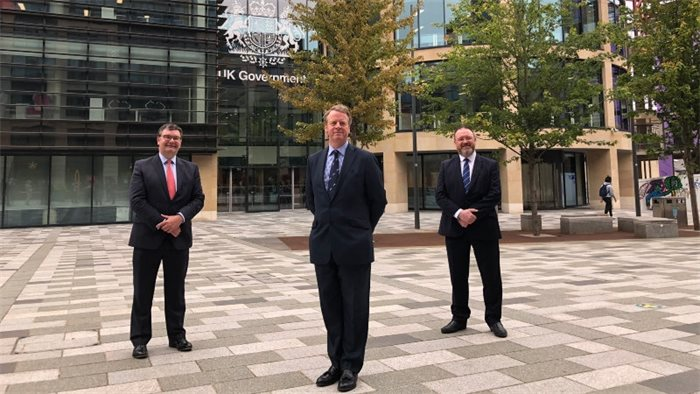 UK Government's new 'flagship hub' in Edinburgh completed