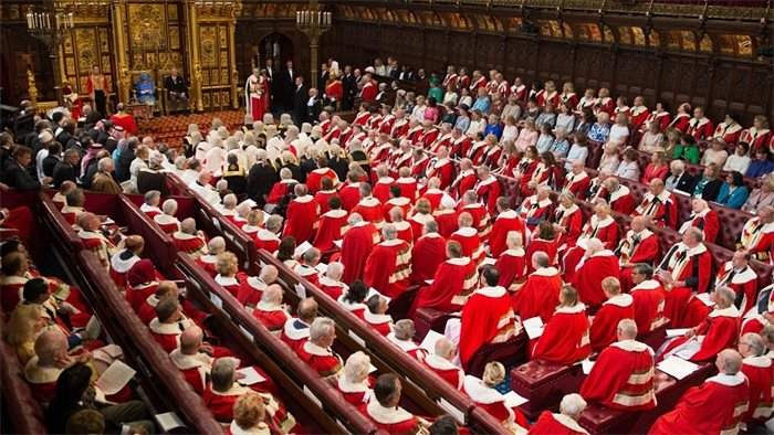 UK Government suffers defeat in House of Lords over Internal Market Bill