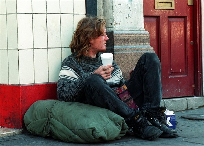 Out in  the cold: How Scotland can end homelessness