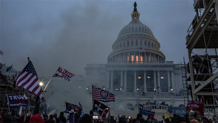 Political leaders condemn 'horrifying' Capitol scenes