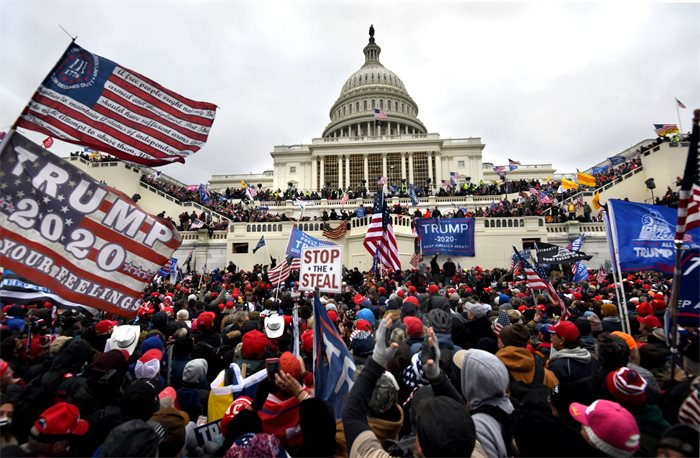 Comment: Violence at the US Capitol was years in the making
