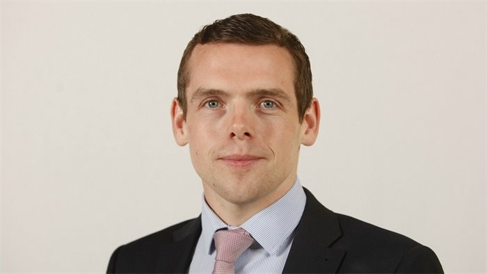 Douglas Ross challenges Nicola Sturgeon to a debate on indyref2