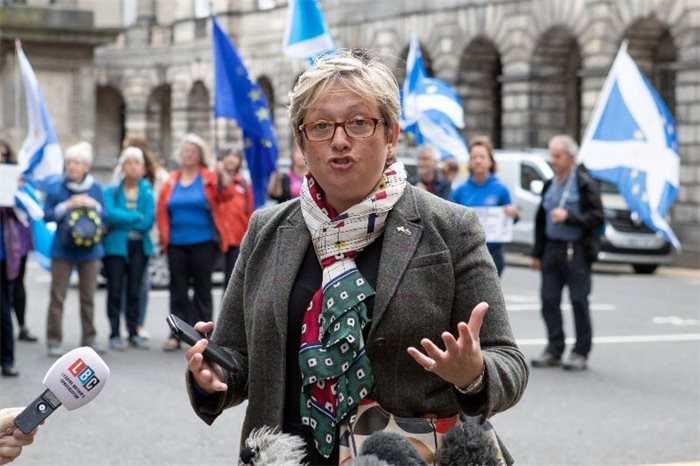 Joanna Cherry receives 'vicious threat' to her safety after being dropped from SNP frontbench