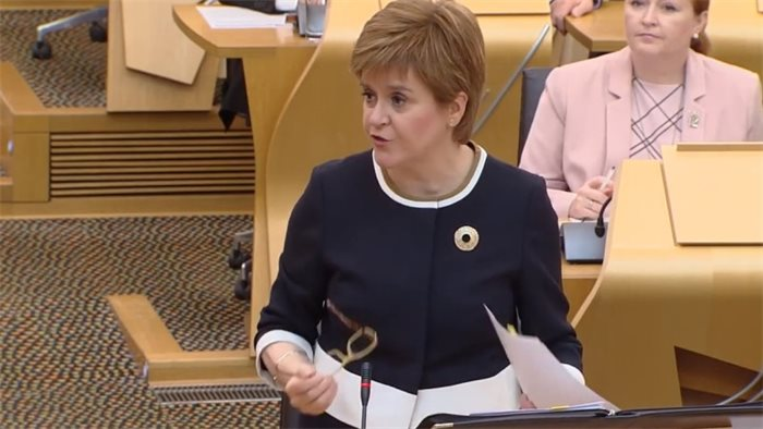 Nicola Sturgeon refuses to say whether she would resign if she was found to have breached the ministerial code