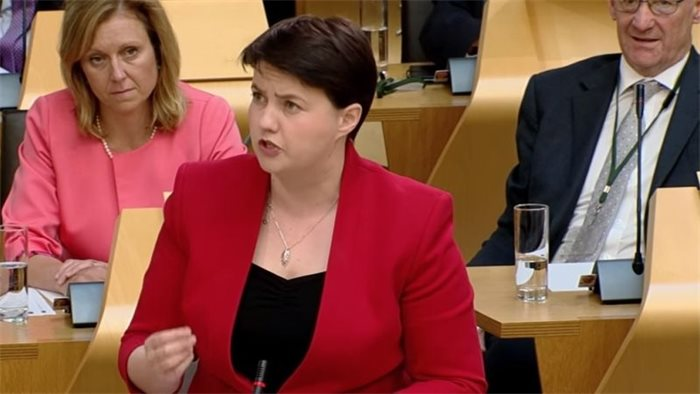 'No argument' that the Scottish Government ignored legal advice, Ruth Davidson claims