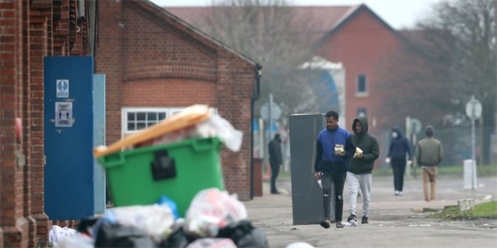 Asylum seekers house in 'filthy', 'impoverished' and 'unsafe' barracks during pandemic