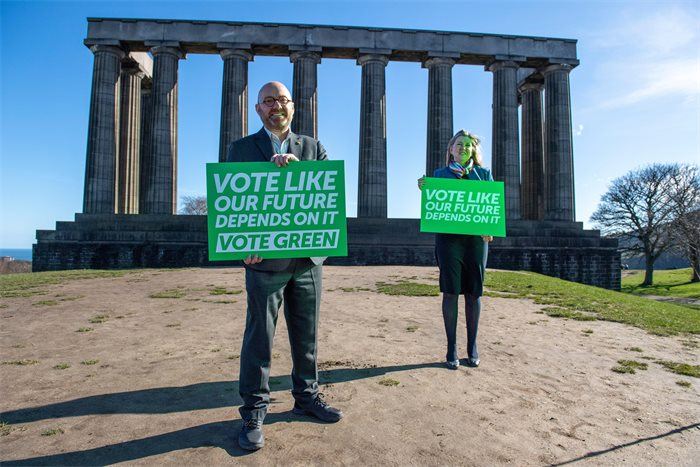 Greens calls for Scots to vote like their 'future depends on it'