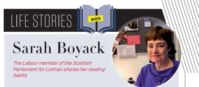 Life Stories: Sarah Boyack MSP on the books that mean most to her