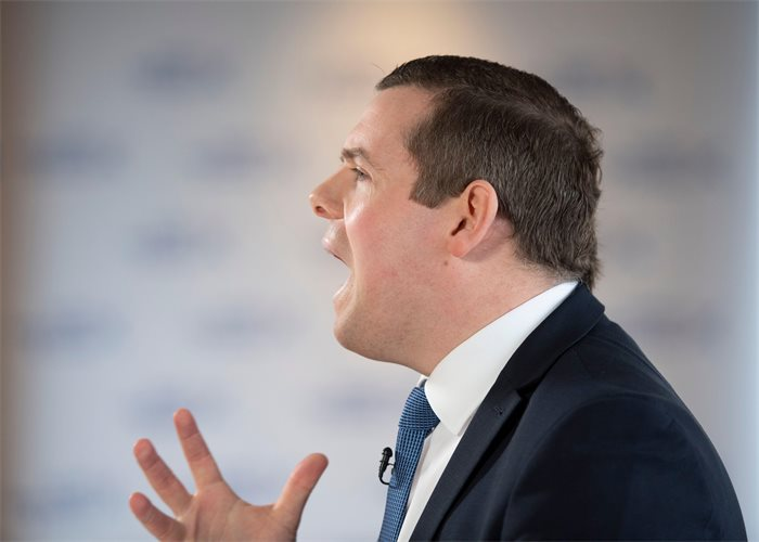 Douglas Ross defends plan to stay on at Westminster even if elected to Holyrood