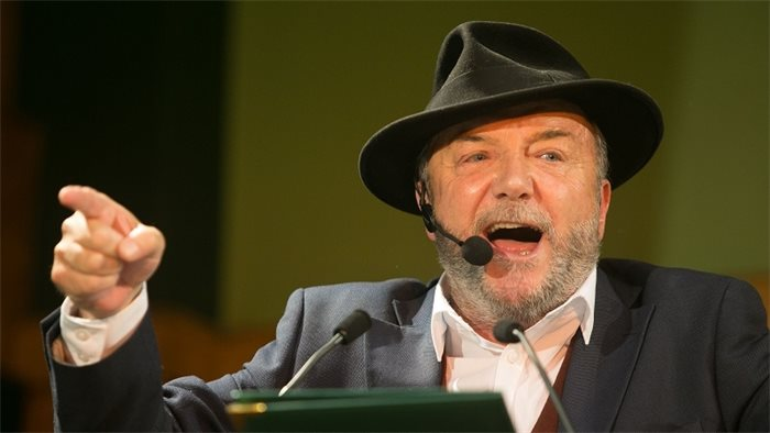 Tories fear they could lose six seats to George Galloway's All for Unity