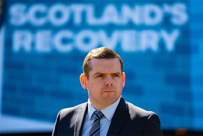 Scottish Conservatives call for unionist backing to 'rebuild' Scotland at manifesto launch