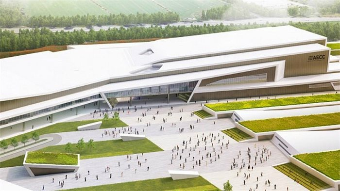 Plans for new AECC approved