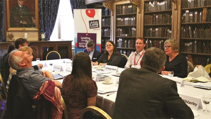 Who is looking after Scotland's lungs? - a roundtable discussion on lung health