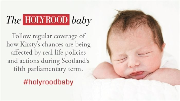 Introducing the Holyrood baby - a letter from the editor