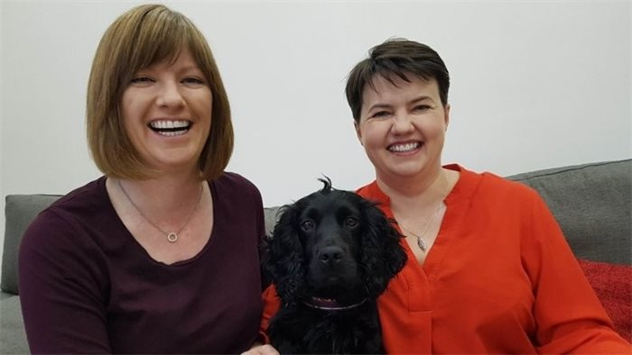 Ruth Davidson and partner expecting baby