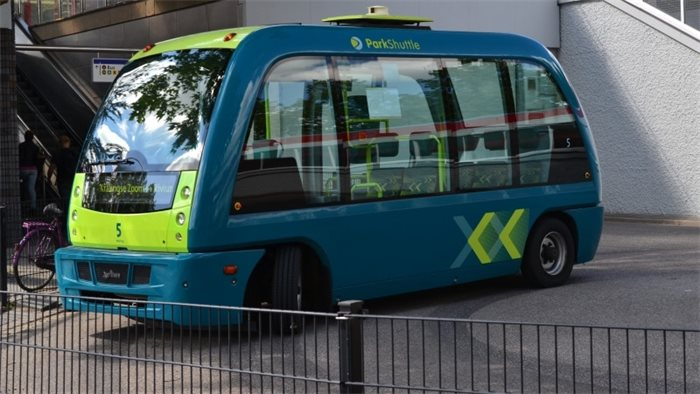 Self-driving buses to be trialled between Fife and Edinburgh