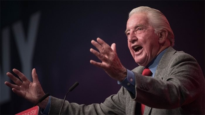 Dennis Skinner defends calling SNP MP Stewart McDonald 'a piece of sh*t'