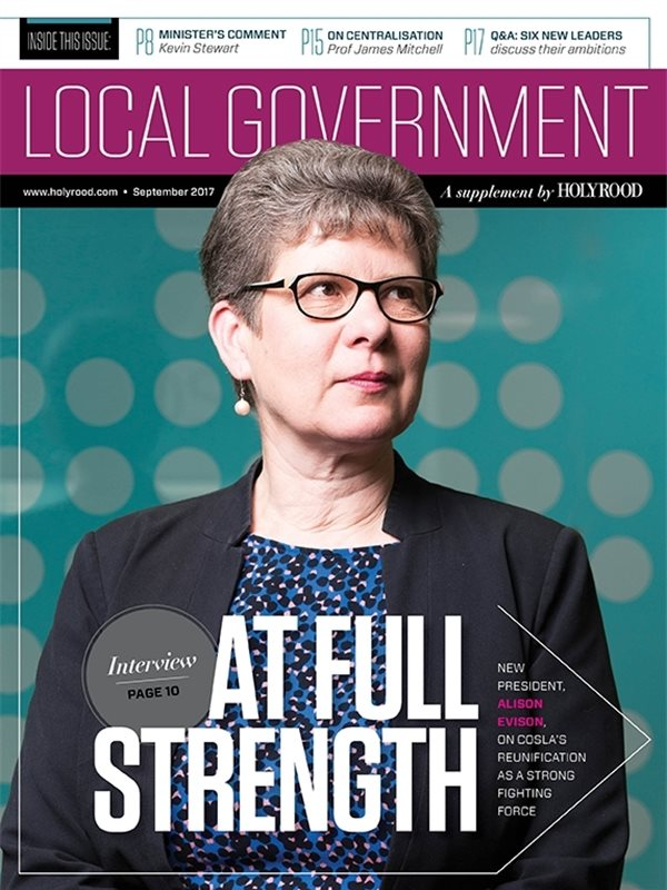 Holyrood Local Government Supplement / 29 September 2017