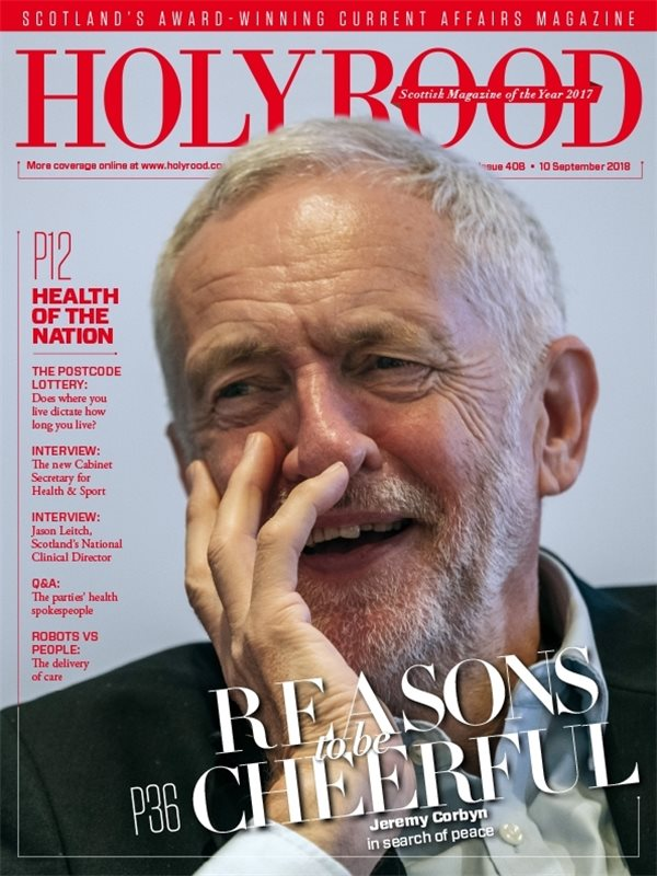 Holyrood Magazine issue 408 / 10 September 2018