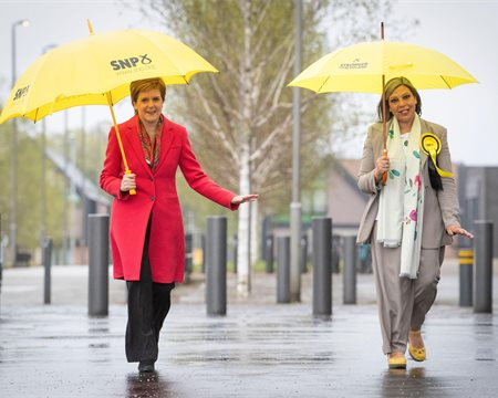 Scotland has voted for a second independence referendum, says Nicola Sturgeon