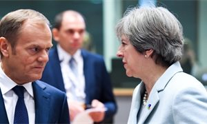 Theresa May writes to Donald Tusk for Brexit delay until 30 June