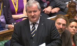 SNP Westminster leader labels Johnson 'racist' in parliament