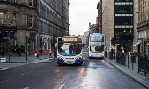 Glasgow councillors back motion to look at taking buses back into council control
