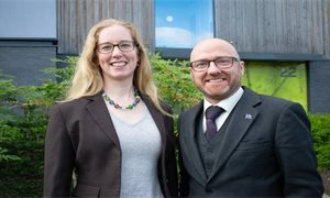 Patrick Harvie and Lorna Slater elected first Scottish Greens co-leaders