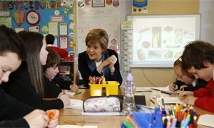 Sturgeon pledges £100m to tackle attainment gap