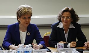 Nicola Sturgeon unveils plans for a new Child Poverty Bill