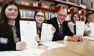 Positive exam results in first full year of new SQA qualifications