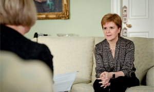 "Nicola Sturgeon says she ""won't spend a lot of time stressing or worrying"" about Alex Salmond trial"