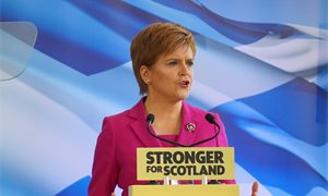 'The future of our country is at stake,' says Nicola Sturgeon at SNP election campaign launch